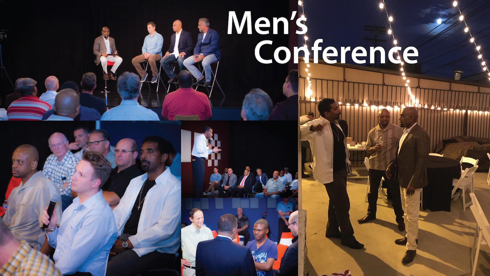 Mens Conference Collage