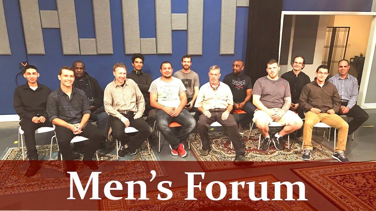 Men's Forum, March 5th