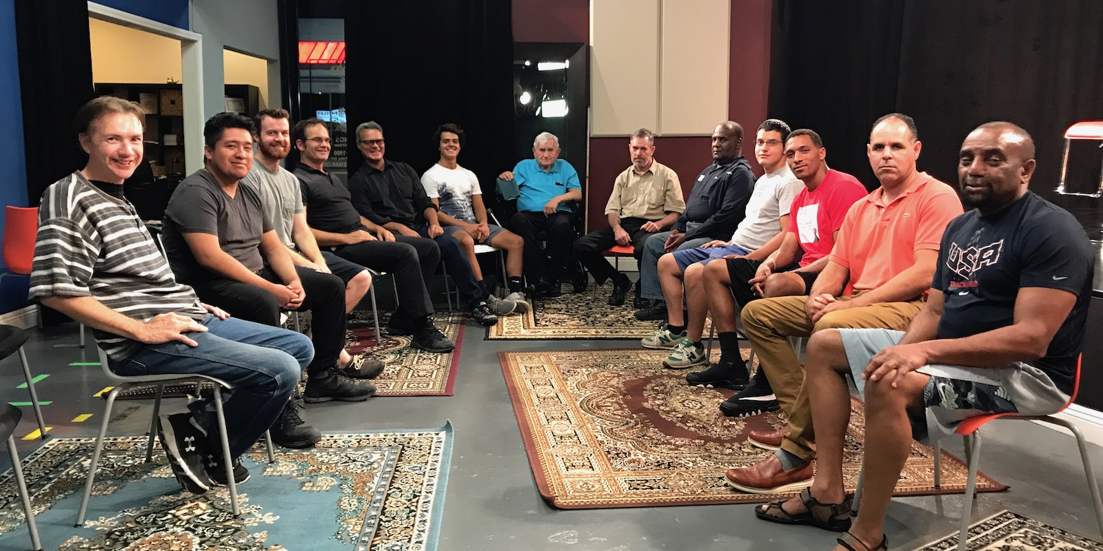 "Recent Men's Forum photo: ""How to be a man"""