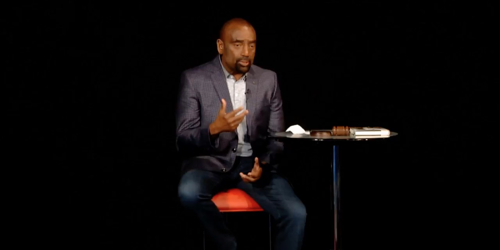 Jesse talks about faith, forgiveness, and being born again