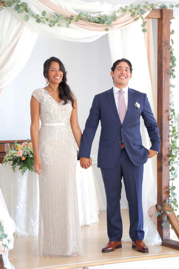 Husband and wife: Noel and Daniela