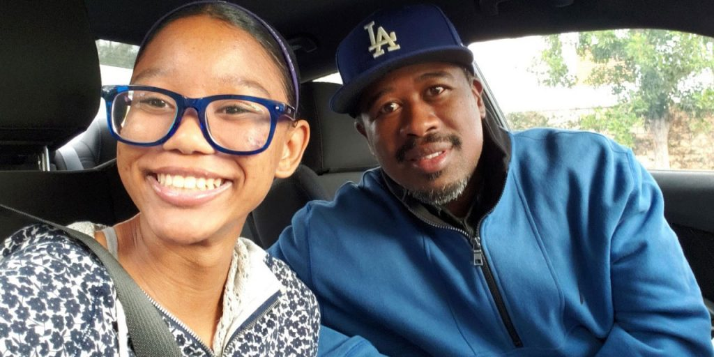 Father and Daughter, Derrick and Zara