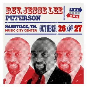 Jesse Lee Peterson speaking at Politicon