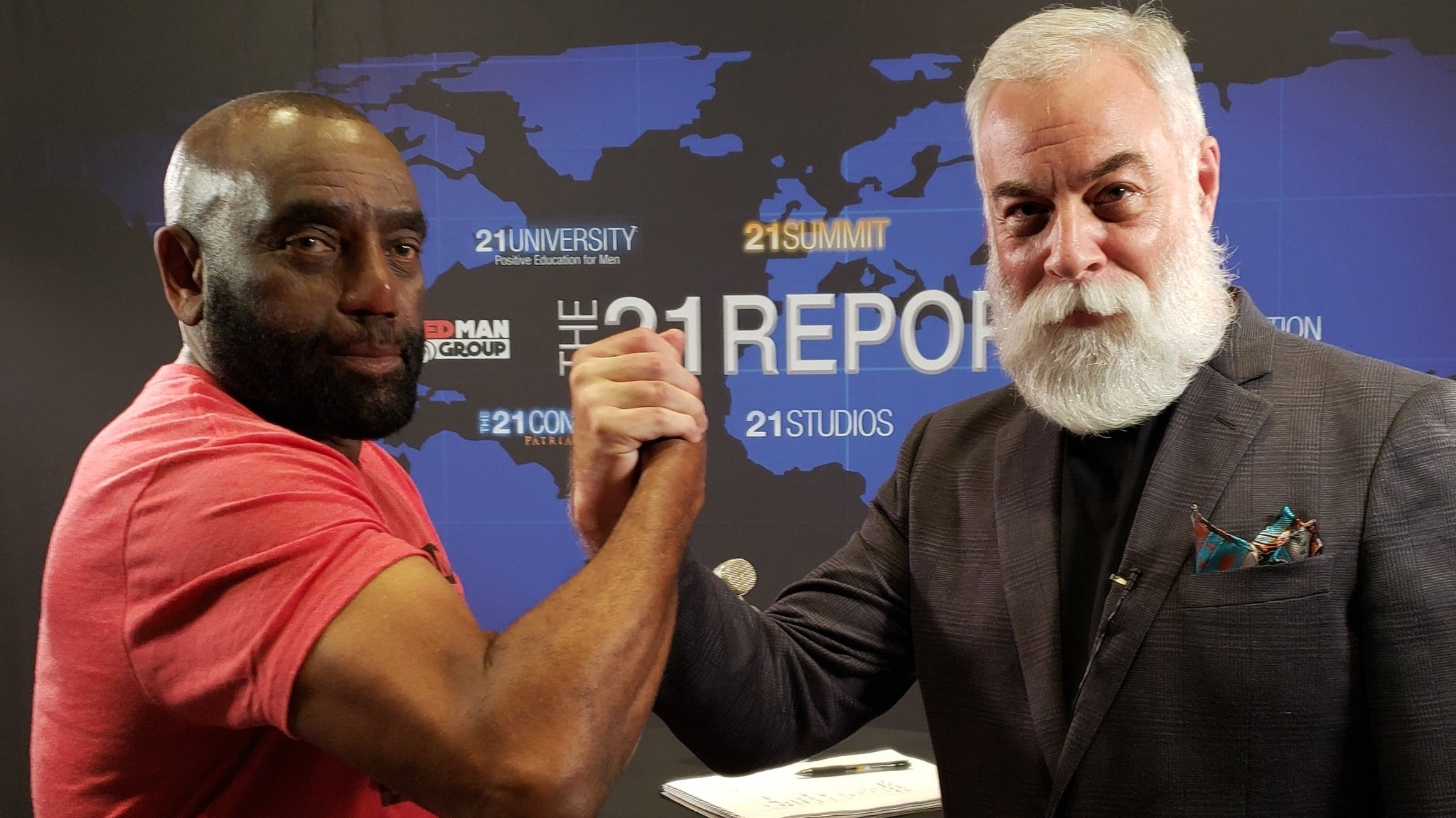 Jesse Lee Peterson on The 21 Report with George Bruno