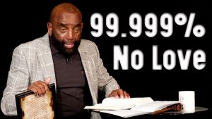Church Clip: 99.999-percent of people have no love