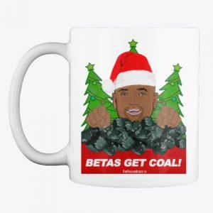 Mug: Betas Get Coal! With Christmas Trees