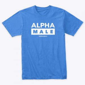 Alpha Male (Triblend tee)