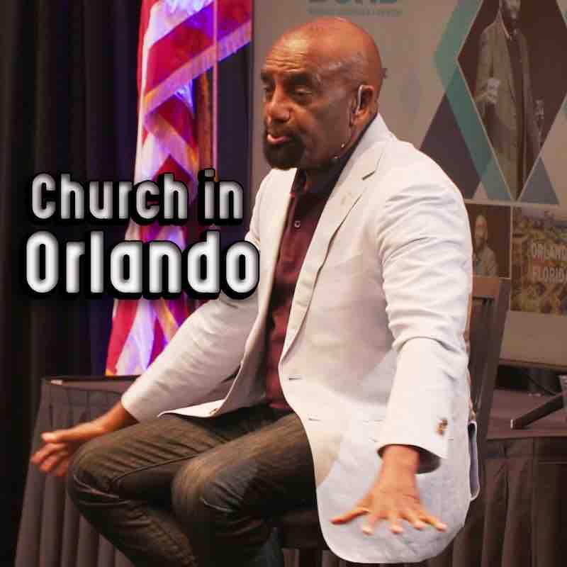 Church in Orlando, FL, Aug 15, 2021